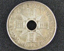 PAPUA NEW GUINEA  ONE SHILLING 1935            OP944