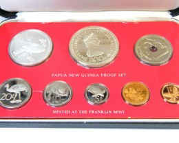 RARE PROOF COINAGE  PAPUA NEW GUINEA   1977       OP953