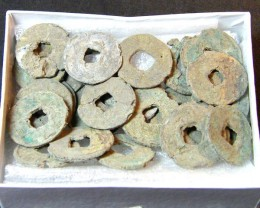 CHINESE SHIPWRECK COINS OVER 800 YEARS OLD   OP 966