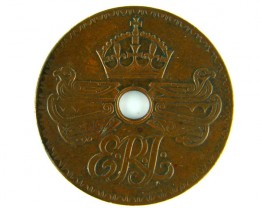 COLLECTORS ONE PENNY  PAPUA NEW GUINEA    1936 VF      OP971