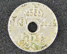 PAPUA NEW GUINEA   ,1944 THREE PENCE  OP983