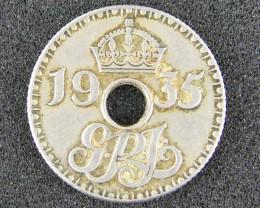 PAPUA NEW GUINEA   ,1935  SIX PENCE  OP 986