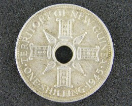 PAPUA NEW GUINEA   ,1945 ONE  SHILLING  OP 987