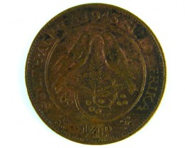 SOUTH AFRICA 1943 FARTHING  OP 1005