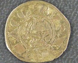 RARE SPAIN JAMES 1 COIN    1213 - 1276 DINAR    OP918