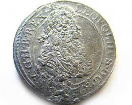 AUSTRIAN SILVER COIN FROM 1694  OP 961