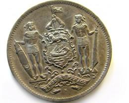 BRITISH NORTH BORNEO  1920 5 CENTS  OP966