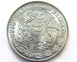 MEXICAN PESO  .720 SILVER COIN 1978  OP 976