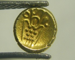 INDIA GOLD COIN MED  PURITY FANAMS 17-18TH CENTUARY OP 1110