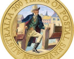 AUSTRALIA POST 200 YEARS COIN AT OFFICIAL LIST PRICE