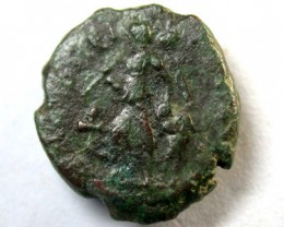 LATE BRONZE ROMAN AE4s 4TH -56th c.AD  OP119