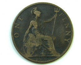 ONE PENNY 1898    J7