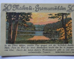 GERMANY NOTGELD 50 pfennig 1921