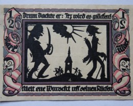 GERMANY NOTGELD 0,5 Mark 1921 (4)