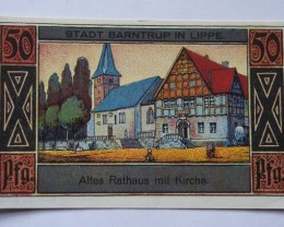 GERMANY NOTGELD 50 Pfennig 1920