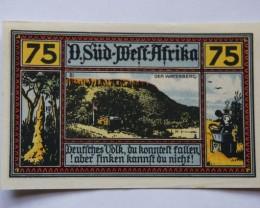 GERMANY NOTGELD 75 Pfennig 1922