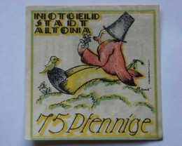 GERMANY NOTGELD 75 Pfennig 1921