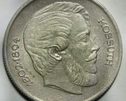 Hungary 5 Forint 1967 Lajos Kossuth KM#576 Rare+