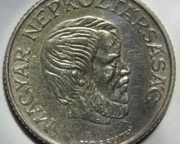 Hungary 5 Forint 1984 Lajos Kossuth (small issue) KM#635