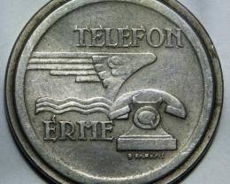 Hungary Telefon Erme (Phone Company Token) RARE++