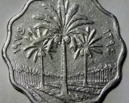 Iraq 10 Fils 1974 KM#126a