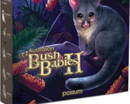 AUSTRALIAN BUSH BABIES II - POSSUM 2013 1/2OZ SILVER PROOF