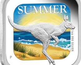 KANGAROO AUSTRALIAN SEASONS 2013 ONE OUNCE