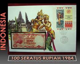 Indonesia 100 Seratus Rupiah 1984 UNC