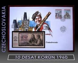 "Czechoslovakia 10 ""Desat"" Korún 1960 UNC"
