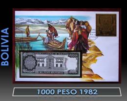 Bolivia 1000 Peso 1982 UNC