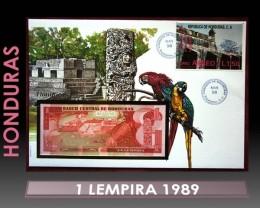 Honduras 1 Lempira 1989 UNC