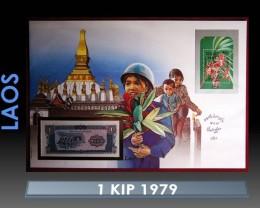 Laos 1 Kip 1979 UNC