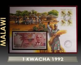 Malawi 1 Kwacha 1992 UNC