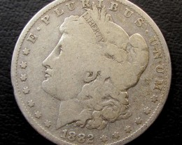 1888 MORGAN DOLLAR SILVER COIN   CO 1604
