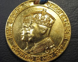 1937 MEDALLION CANADA FEAR GOD HONOUR THE KING   CO 1637