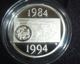 1994 SILVER PROOF  - DECADE OF THE DOLLAR
