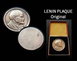 Lenin Original Plaque + Original Box