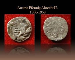 Austria Pfennig-Albrecht II. 1330-1358