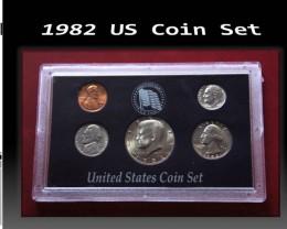1982 US Coin Set