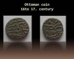 Ottoman silver coin 16to 17. century Code: 016