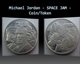 Michael Jordan - SPACE JAM - Aluminium Coin/Token