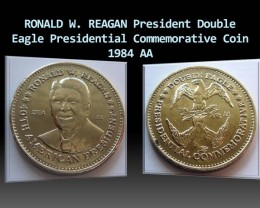 RONALD W. REAGAN  Double Eagle Commemorative coin 1984 AA