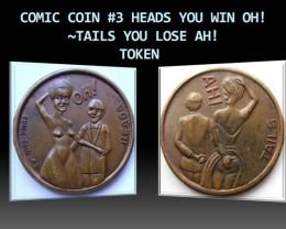 COMIC COIN #3  TOKEN