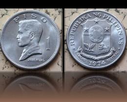 Philippines 1 Piso 1974 KM#203