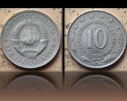 Yugoslavia 10 Dinara 1976 KM#62