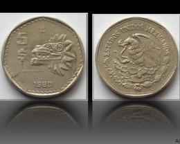 Mexico 5 Pesos 1980 KM#485