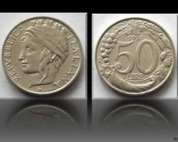 Italy 50 Lire 1996 KM#183