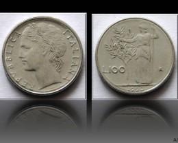 Italy 100 Lire (small type) 1990 KM#96.2