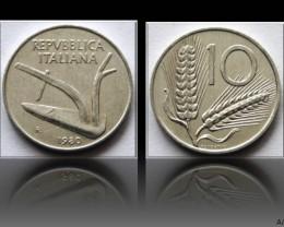 Italy 10 Lire 1980R KM#93