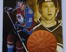 1997 Pinnacle Mint Bronze Hockey Cards Peter Forsberg